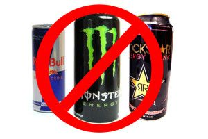 Steady up on the energy drinks